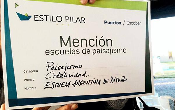 Menci n de estilo pilar 2017 ead escuela argentina de for Escuela argentina de diseno