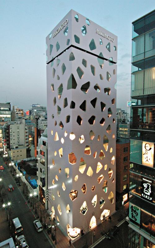 Tokio Ginza 16 0 Mikimoto bldg Toyo Ito