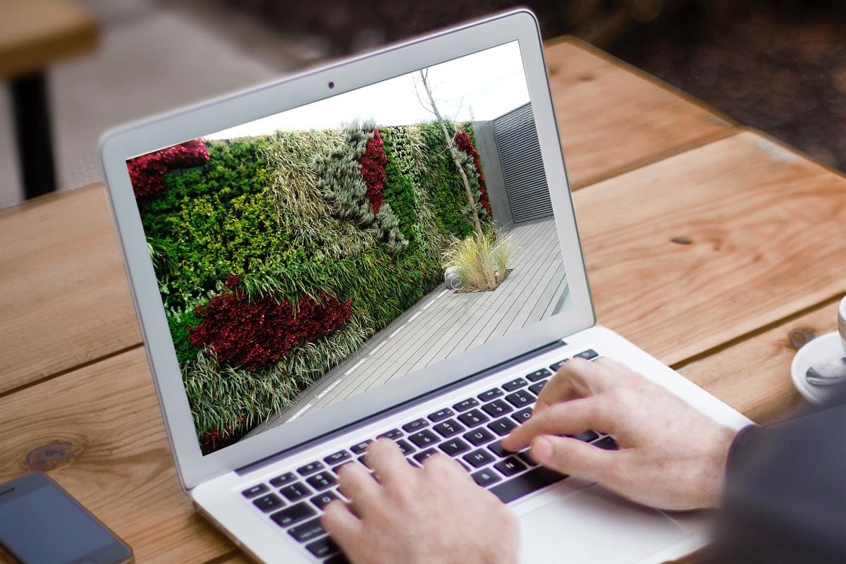 Jardines verticales modalidad distancia ead escuela for Escuela argentina de diseno